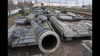 Заброшенный военный арсенал, кладбище военной техники. Часть 1