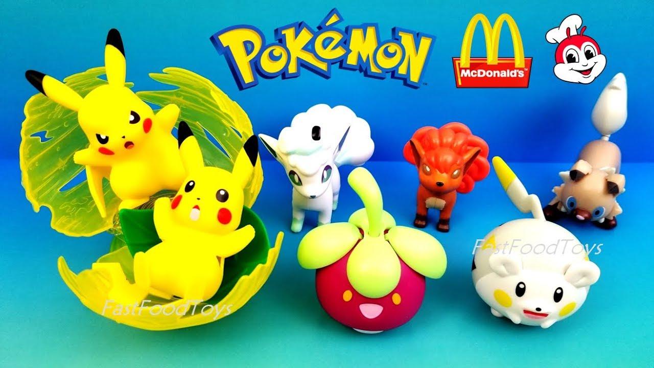 2018 Mcdonald S Pokemon Happy Meal Toys Vs Jollibee