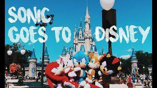 Sonic Goes to Disney World