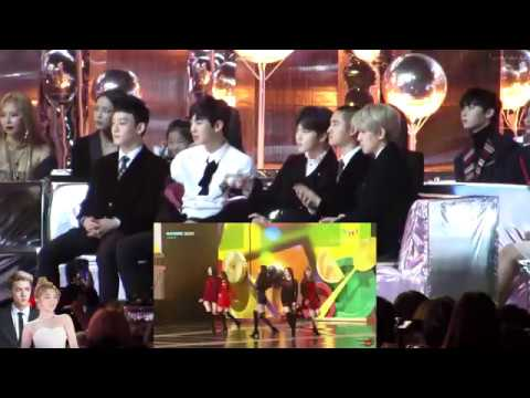 EXO reaction to Red Velvet (Peekaboo & Red Flavor) 171202