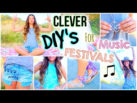 DIYs For A Music Festival That Will Save you Money! + Essentials & Outfits!