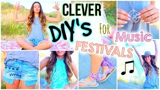 Diy's For A Music Festival That Will Save You Money! + Essentials & Outfits!
