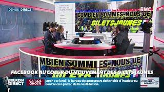 """#CDEJADEMAIN : Facebook au cœur du mouvement """"gilets jaunes"""""""