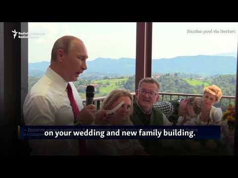 Putin Waltzes At Austrian Foreign Minister's Wedding