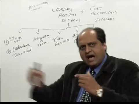 CS Scope and Lecture on Company Accounting and Cos