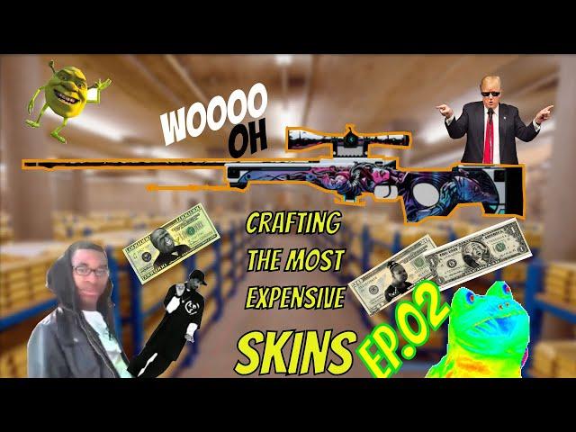 Crafting The Most Expensive Skins - Ep.02 (StatTrak AWP | Neo-Noir/StatTrak AK-47 | Asiimov)
