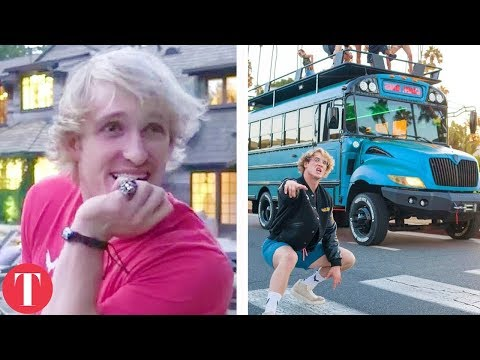 Thumbnail: 10 Things Logan Paul Owns Only The Richest Can Afford