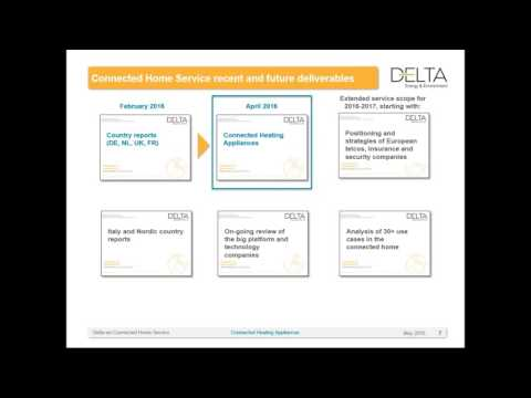 Delta-ee: How is connectivity disrupting the multi billion Euro heating appliance market