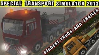 Special Transport Simulator 2013 Big Load Gameplay PC HD