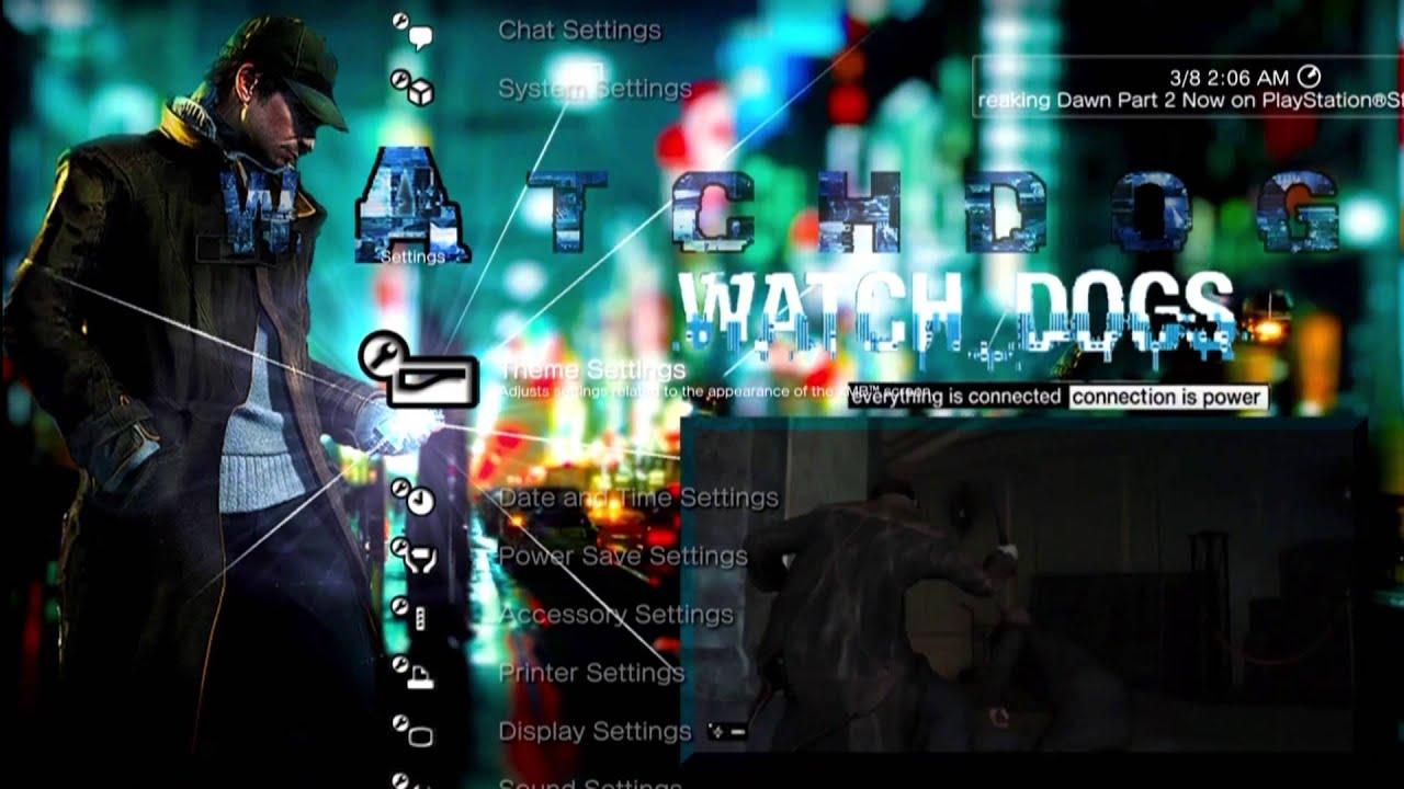 Watch Dogs  Windows Theme