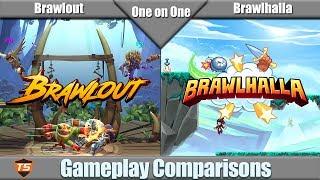 One on One - Brawlout vs Brawlhalla
