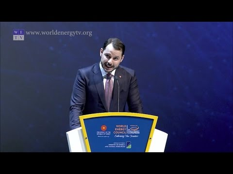 World Energy Congress   Berat Albayrak, Minister of Energy and Natural Resources, Turkey