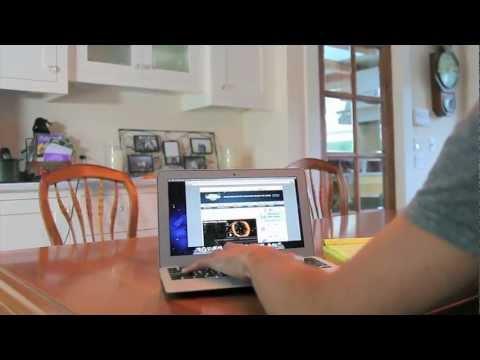 Flying Macbook Air - Behind the Scenes
