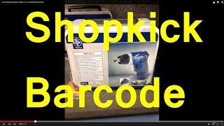 LUX Akkuschrauber ABS-3,6 Li shopkick barcode