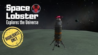 Space Lobster explores the Kerbal Universe! 🦀🚀  [Highlights]