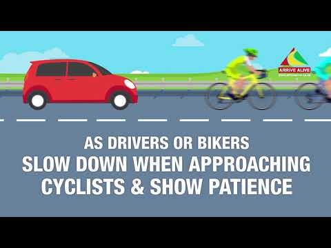 Cycling Safety and Sharing Road Safely with Cyclists