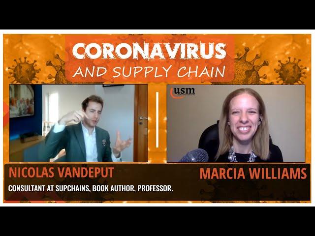 Coronavirus and Supply Chain - How to Apply Data Science to Supply Chain with Nicolas Vandeput