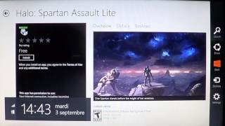 Windows 8 game Halo Spartan Assault lite free available