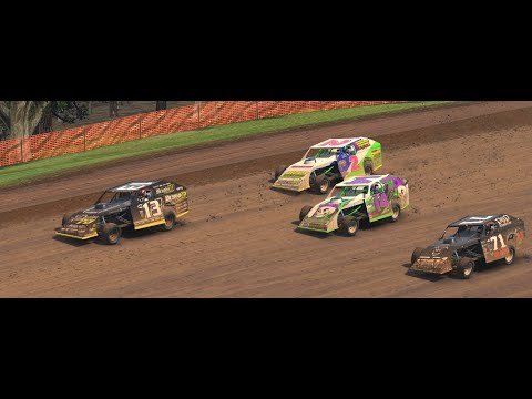 iRacing: wow what a race @Lernerville Speedway UMP Modifieds