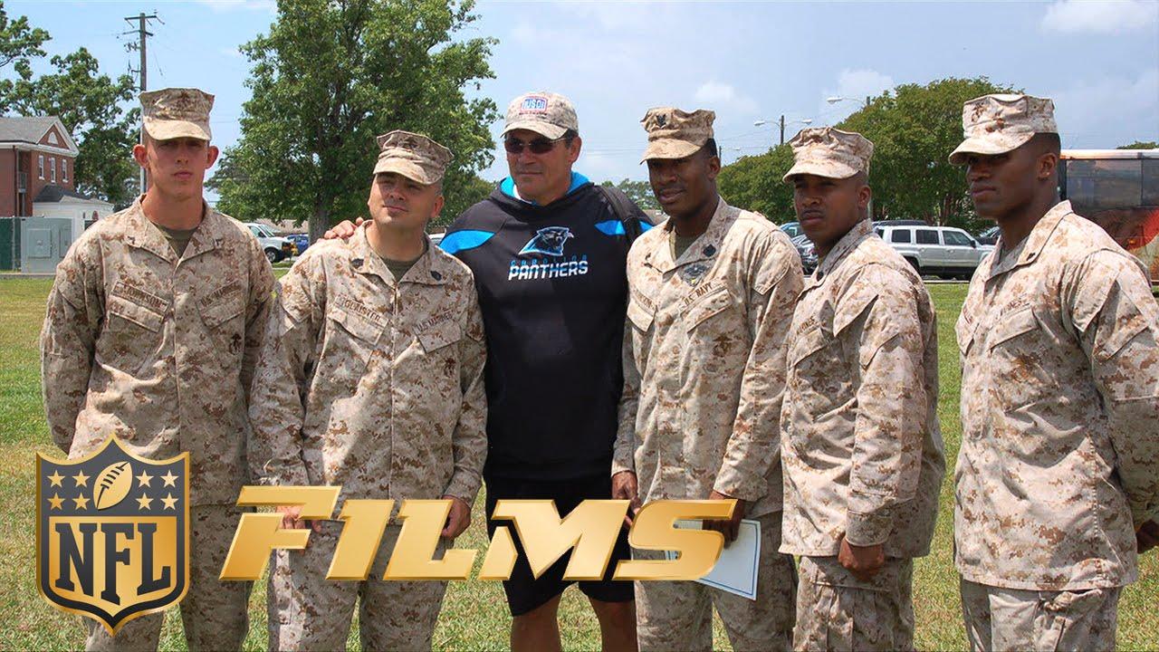 new concept 95449 46e5b Carolina Panthers Salute to Service | NFL Films Presents