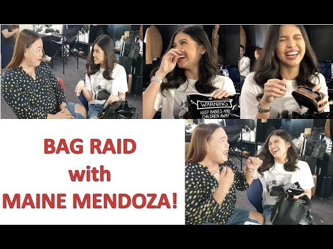Bag Raid With Maine Mendoza   Darla Sauler