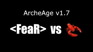 ArcheAge - [GvG 6x6] FeaR vs HomeleSS - Never (Невер)