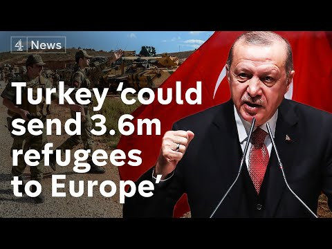 Syria: Turkey threatens to send millions of refugees to Europe if war against Kurds interfered with