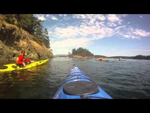 Kayaking in the San Juan Islands, August 2013