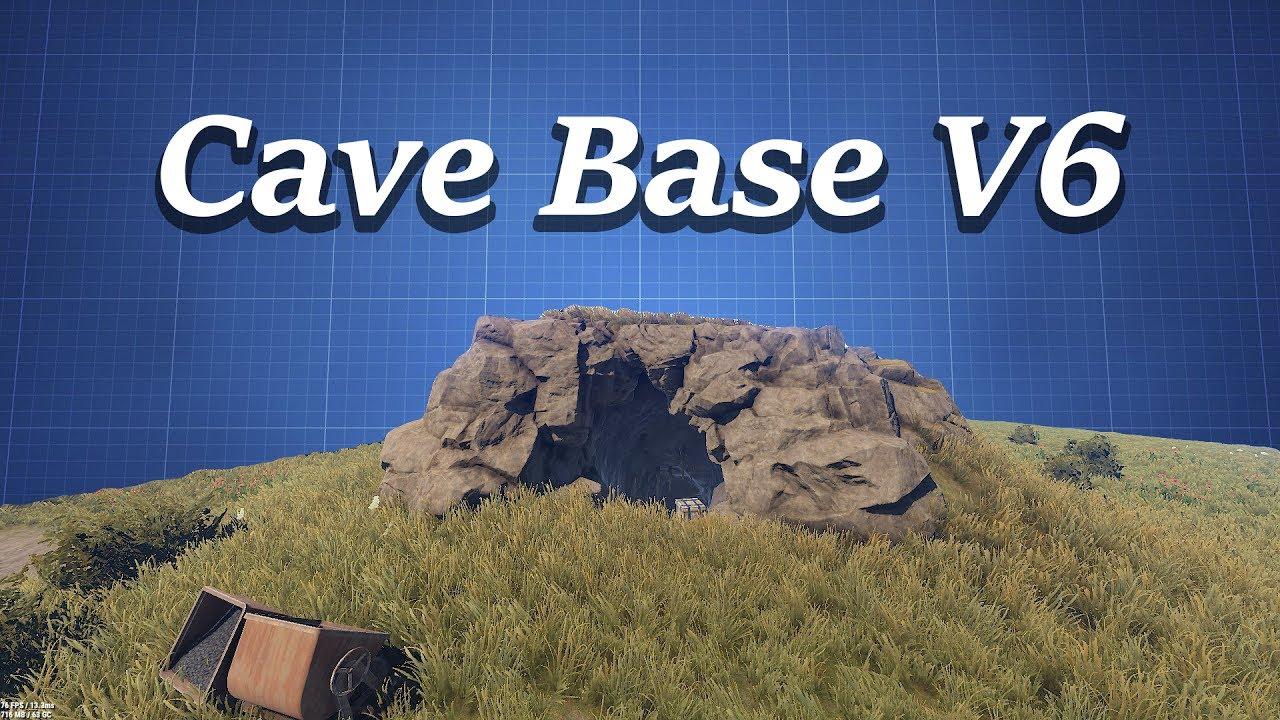 Small Cave Base Design | Rust