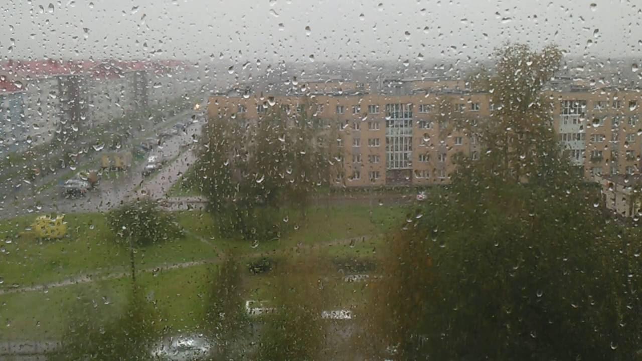 фото дождя за окном