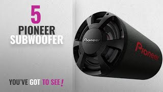Top 10 Pioneer Subwoofer [2018]: Pioneer TS-WX306T Basstube 1300W
