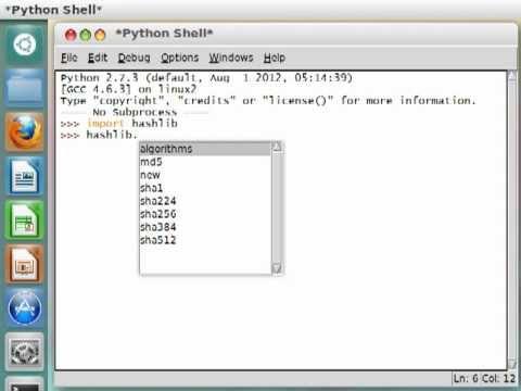 Python [hashlib] 01 Introduction