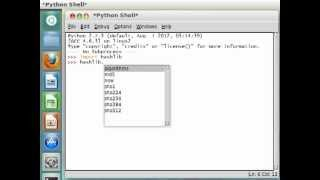 Python [hashlib] 01 Introduction