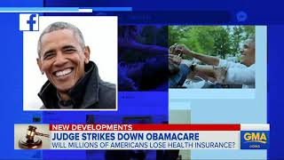 Obama, Trump react to judge's health care ruling ABC News