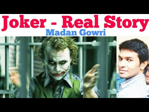Joker Story | Tamil | Heath Ledger | Madan Gowri | MG