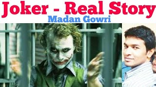 Joker Story | Tamil | Heath Ledger | Madan Gowri | MG