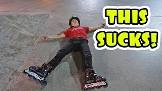 Repeat youtube video ROLLER BLADING FAILS