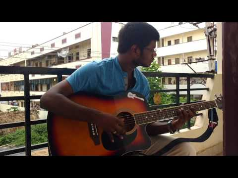 Crazy Feeling Song From Nenu Sailaja... Superb Guitar Video #VRSEC / MECH