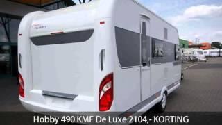 Hobby 490 KMF De Luxe 2104,- KORTING