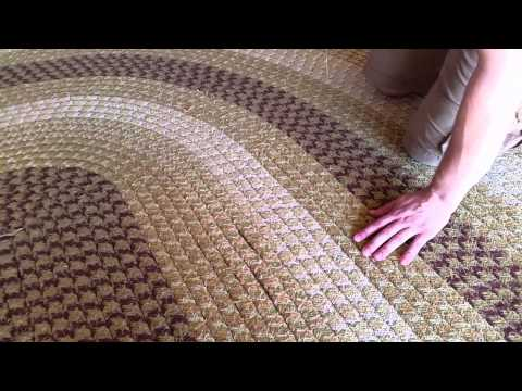 How To Sew Ided Rug