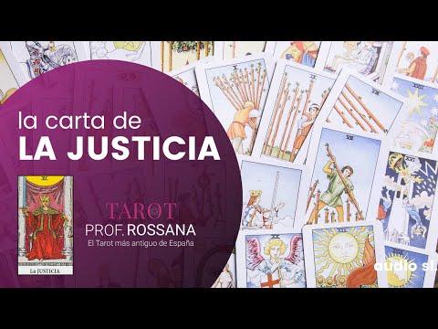 La carta de la Justicia y su significado en el amor y el tarot