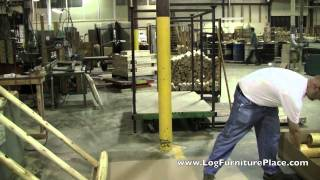 Log Bed Assembly With Jhe's | How To Assemble The Cedar Lake Log Bed