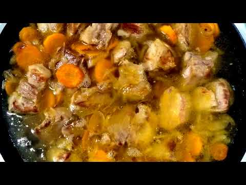 шурпа из свинины рецепт с фото в домашних условиях
