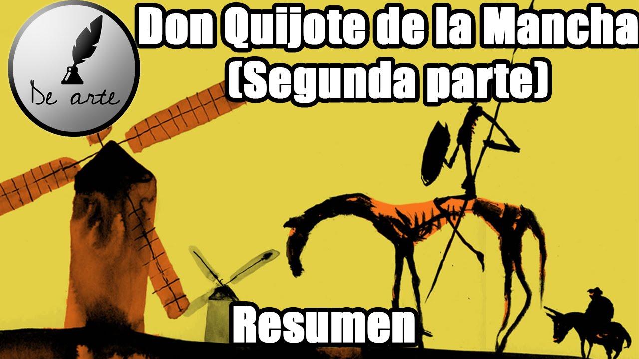 don quijote segunda parte resumen