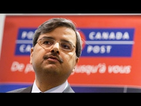 Canada Post's 22 Vice-presidents and Bonuses!