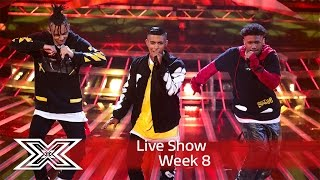 5 After Midnight do a Bieber & Drake mash-up | Live Shows Week 8 | The X Factor UK 2016