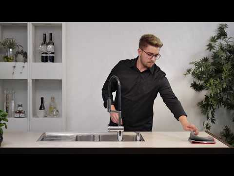 How to clean your Franke stainless steel sink