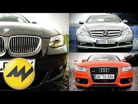 Mercedes E-Klasse Coupè vs. Audi A5 & BMW 3er Coupè