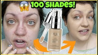 PÜR 4-in-1 Love Your Selfie Foundation & Concealer | WEEKLY WEAR (Oily Skin Review)