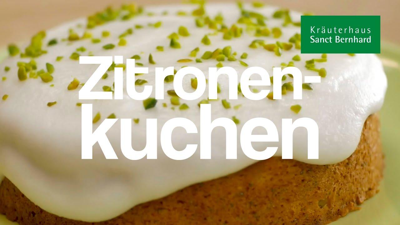 Zitronenkuchen Mit Erythrit Und Xylitol Youtube